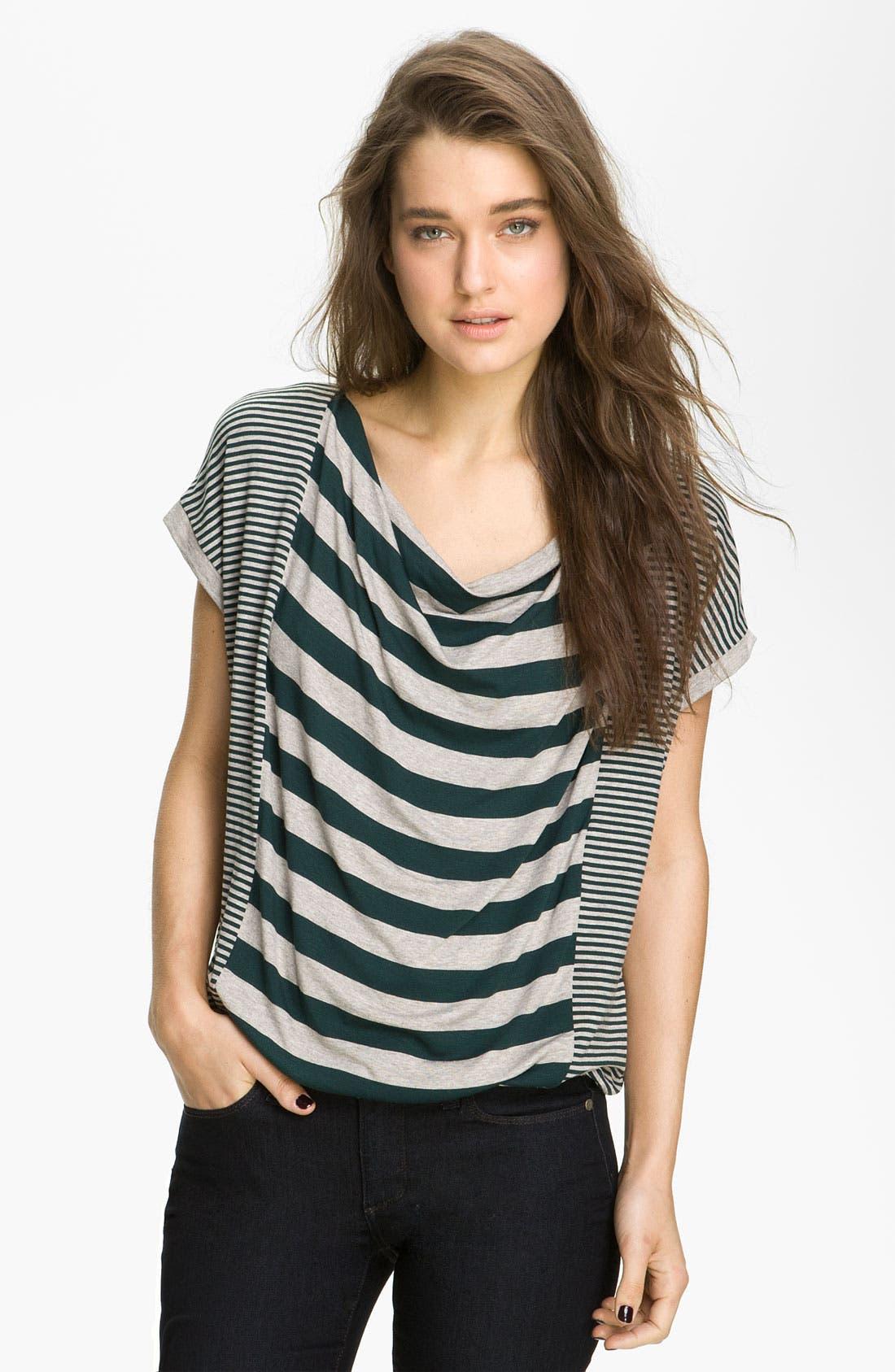 Alternate Image 1 Selected - Ella Moss 'Hazel' Stripe Top