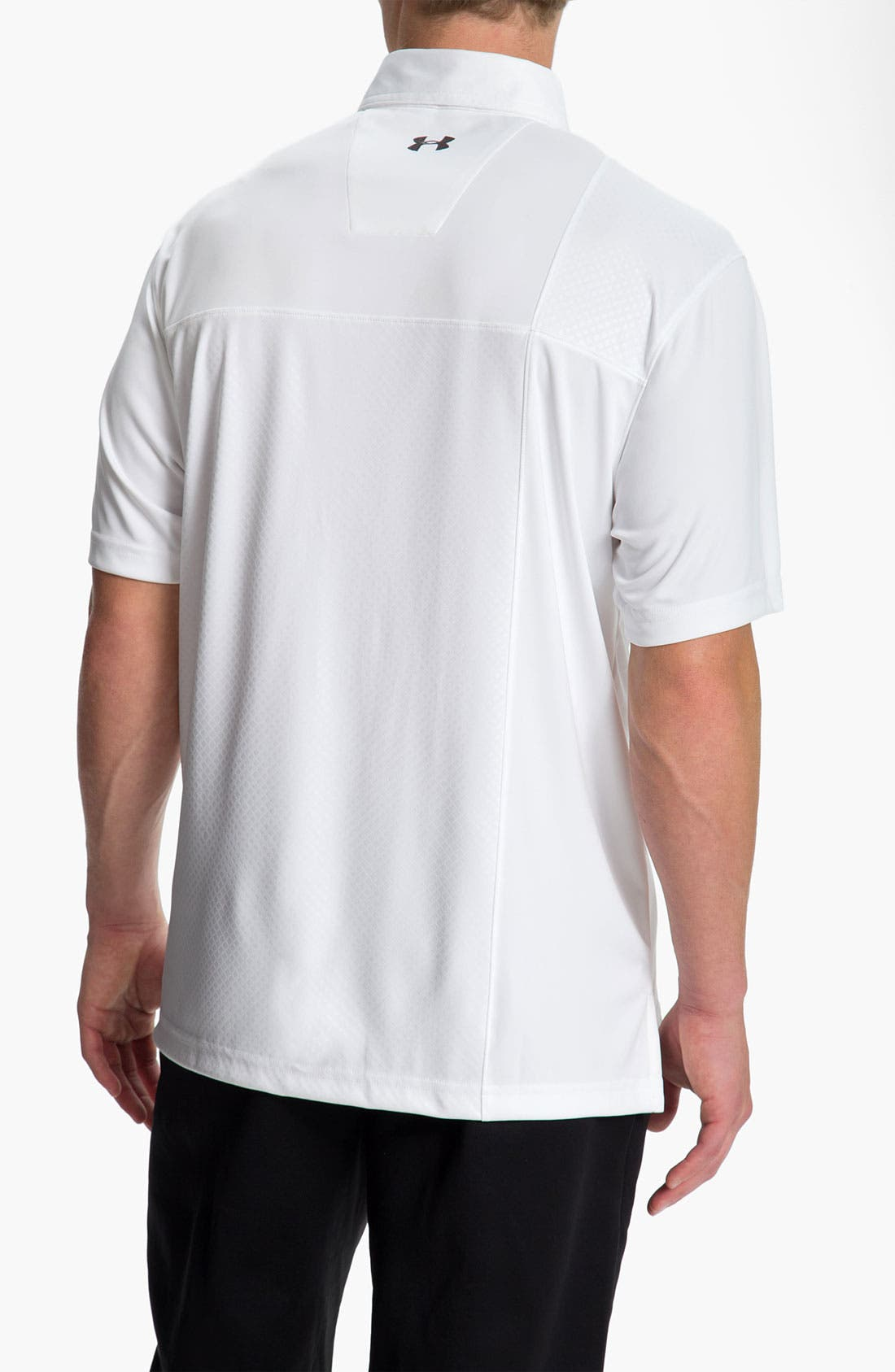 Alternate Image 2  - Under Armour HeatGear® UV Protection Performance Polo