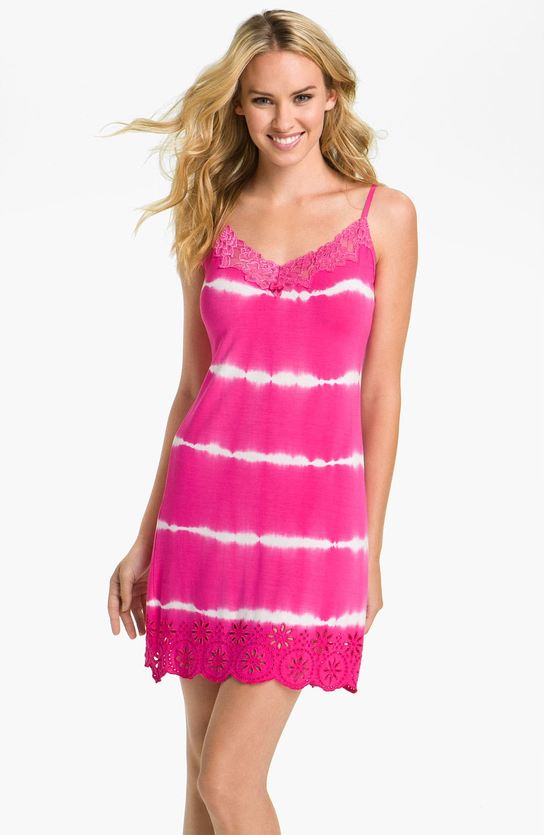 Alternate Image 1 Selected - PJ Salvage 'Dye Cut Cutie' Nightie