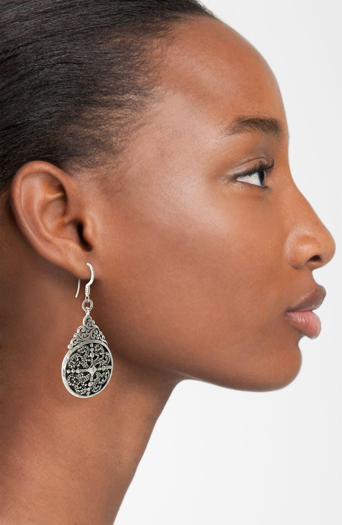 Alternate Image 2  - Lois Hill 'Haveli' Cutout Teardrop Earrings