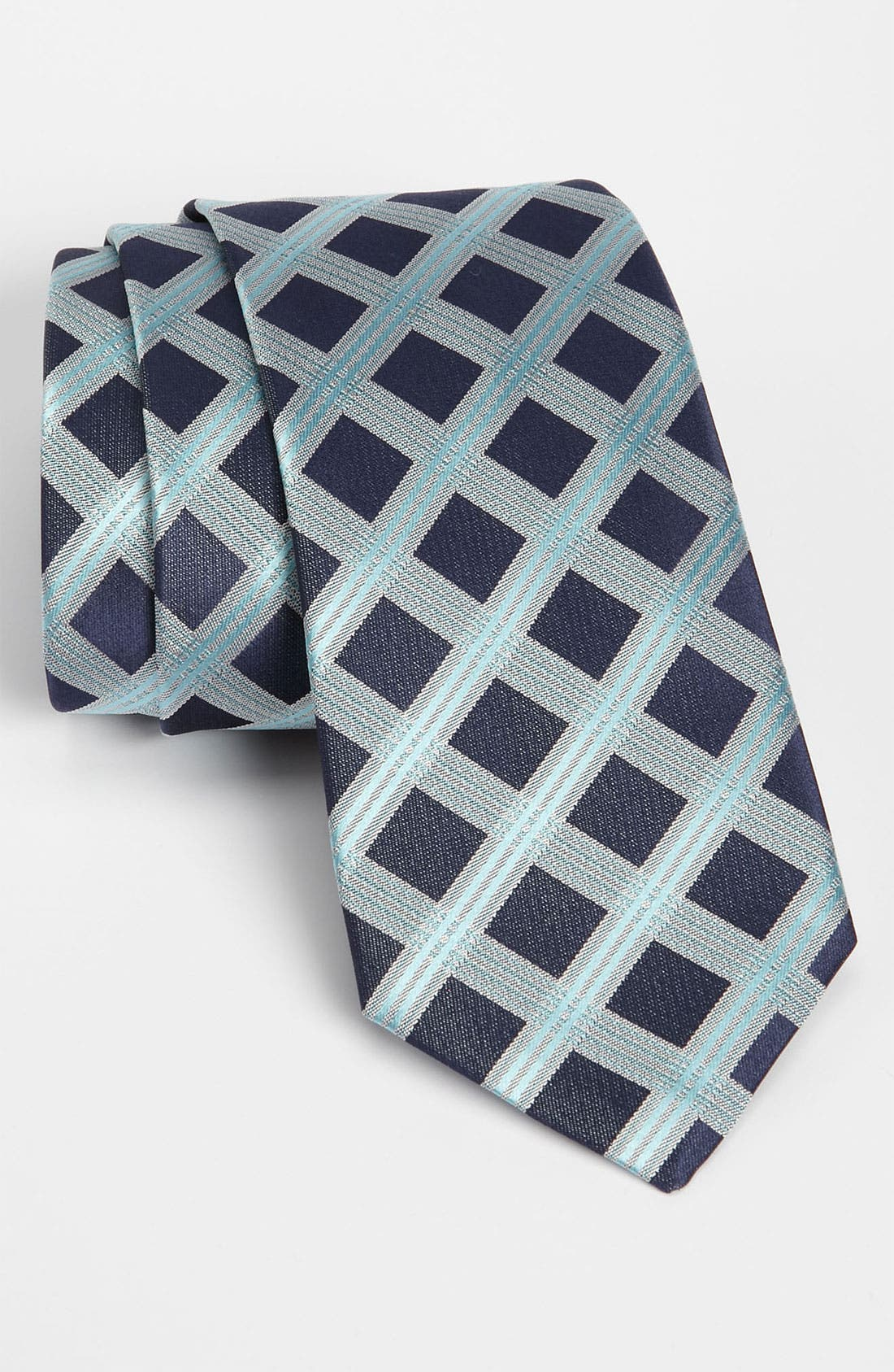 Main Image - BOSS Black Woven Silk Tie