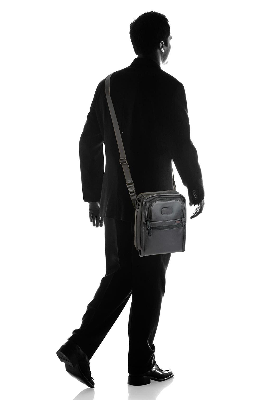 Alternate Image 6  - Tumi 'Alpha' Organizer Travel Leather Tote