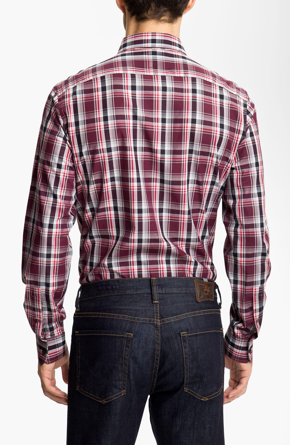 Alternate Image 2  - Michael Kors 'Halden Check' Sport Shirt