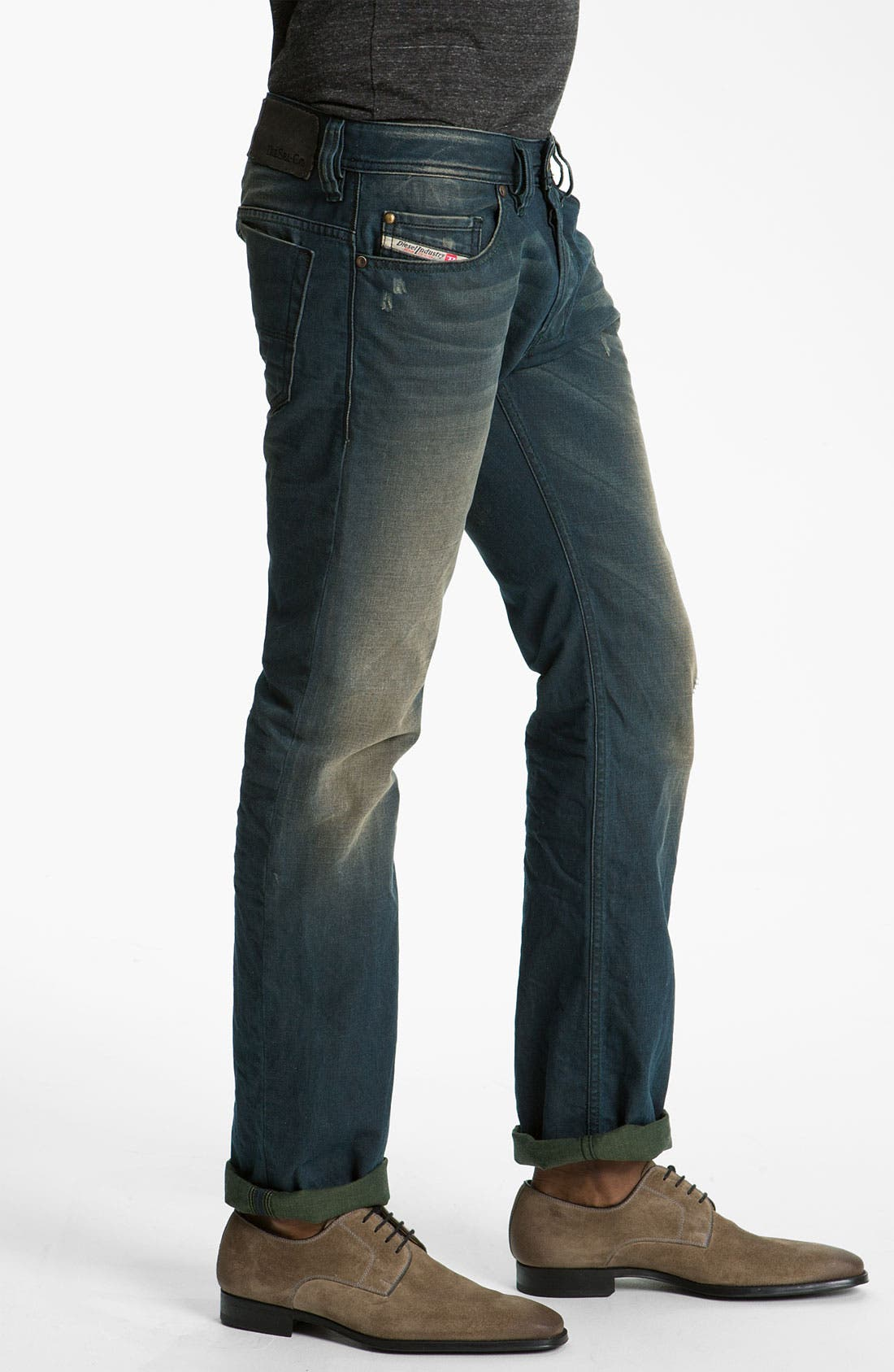 Alternate Image 3  - DIESEL® 'Safado' Slim Straight Leg Jeans (0804Z)