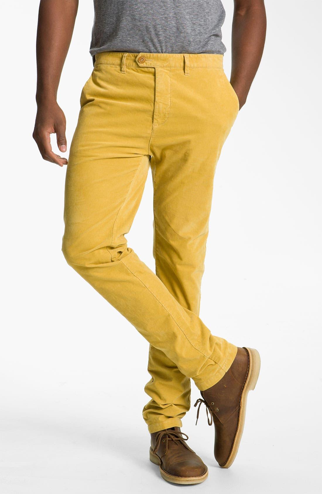 Main Image - Scotch & Soda 'Bowie' Slim Straight Leg Corduroy Pants