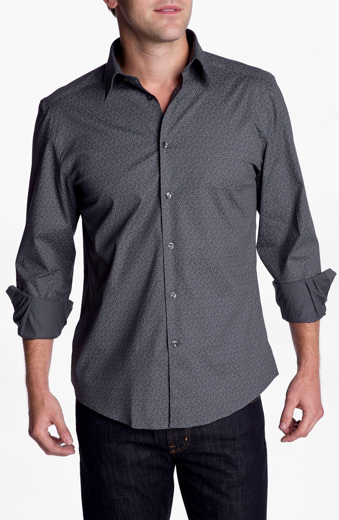 Main Image - Versace Silk Sport Shirt