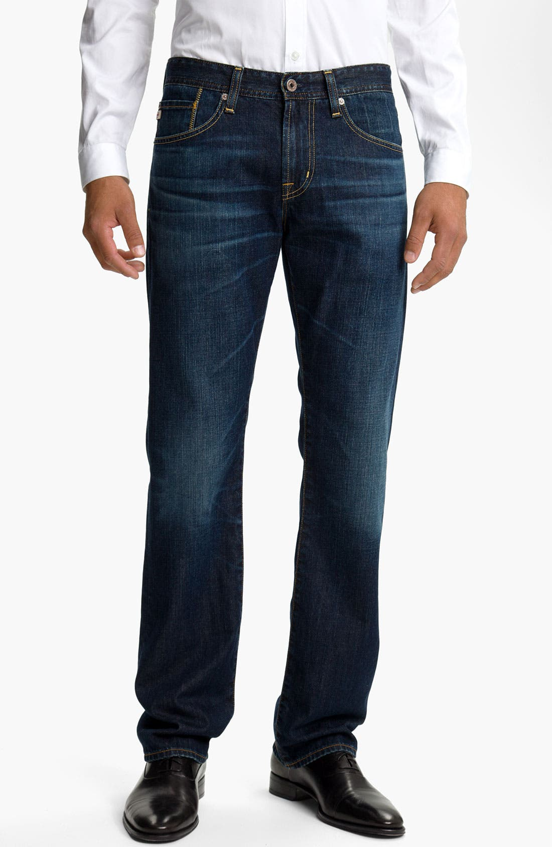 Alternate Image 1 Selected - AG Jeans 'Protégé' Straight Leg Jeans (Seven Year Smooth)