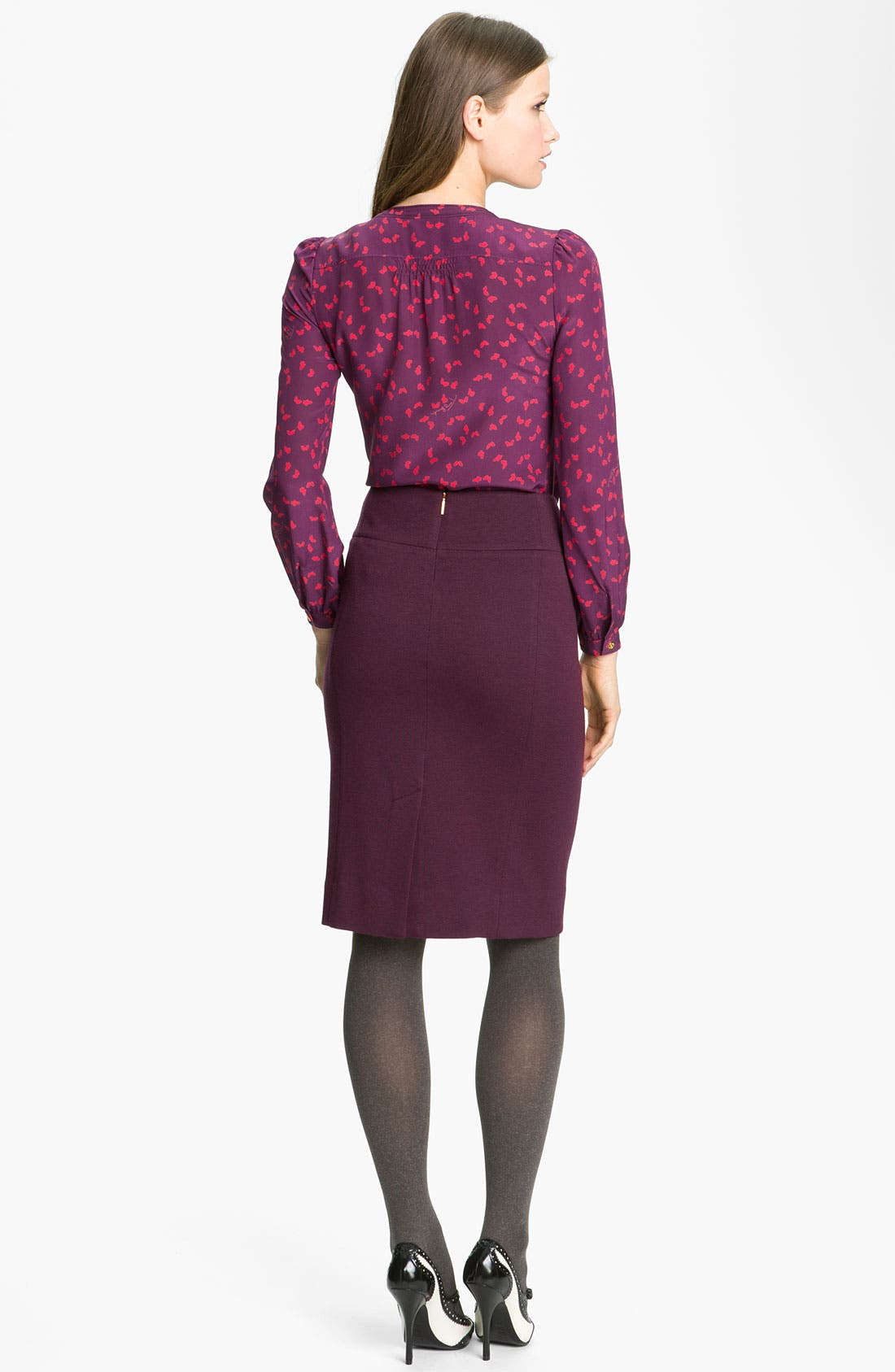 Alternate Image 4  - Tory Burch 'Anthea' Pencil Skirt