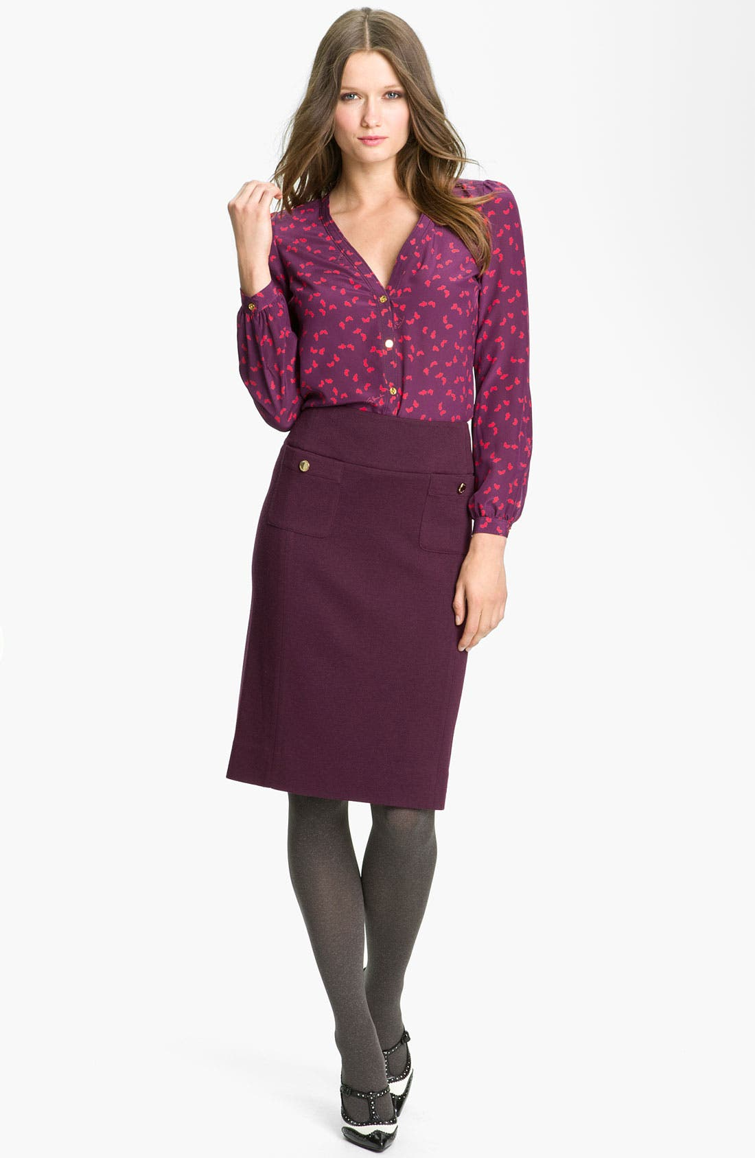 Alternate Image 3  - Tory Burch 'Anthea' Pencil Skirt