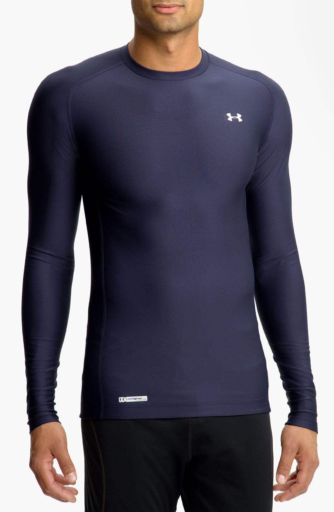 Alternate Image 1 Selected - Under Armour 'Evo - Game Day' ColdGear® Compression T-Shirt (Online Only)