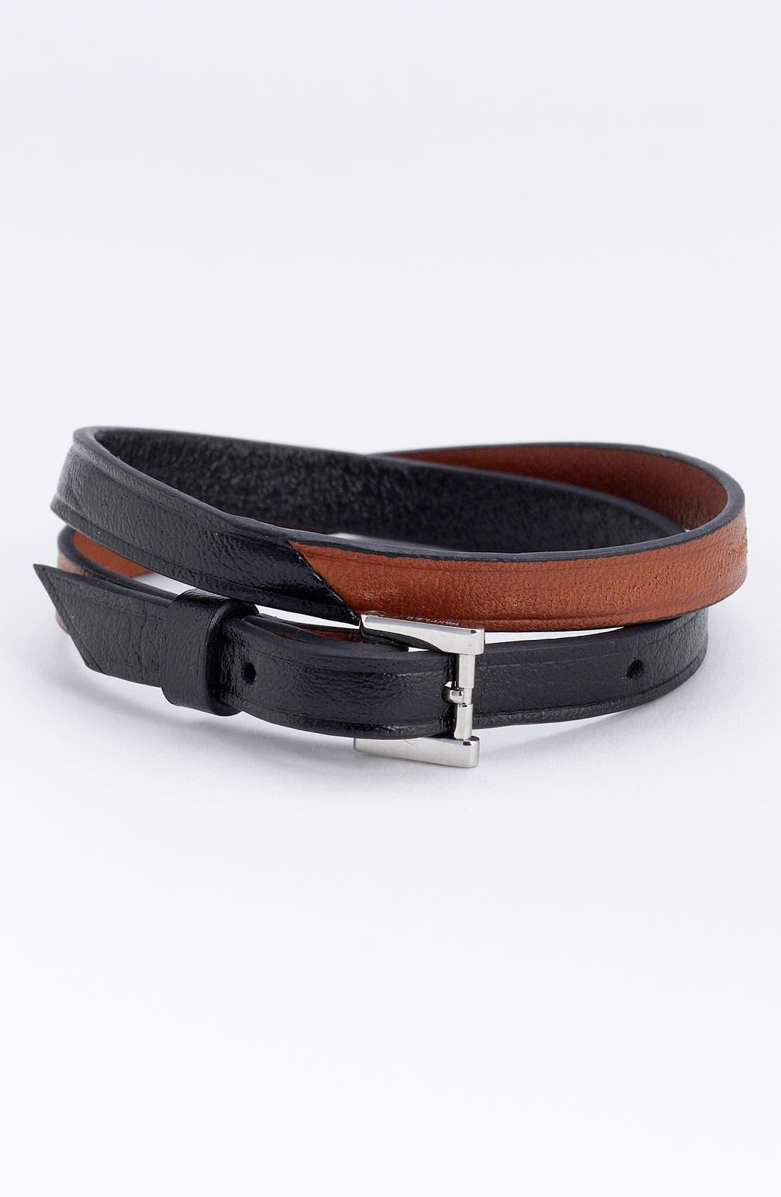 Alternate Image 1 Selected - WANT Les Essentiels de la Vie 'Vantaa' Leather Bracelet