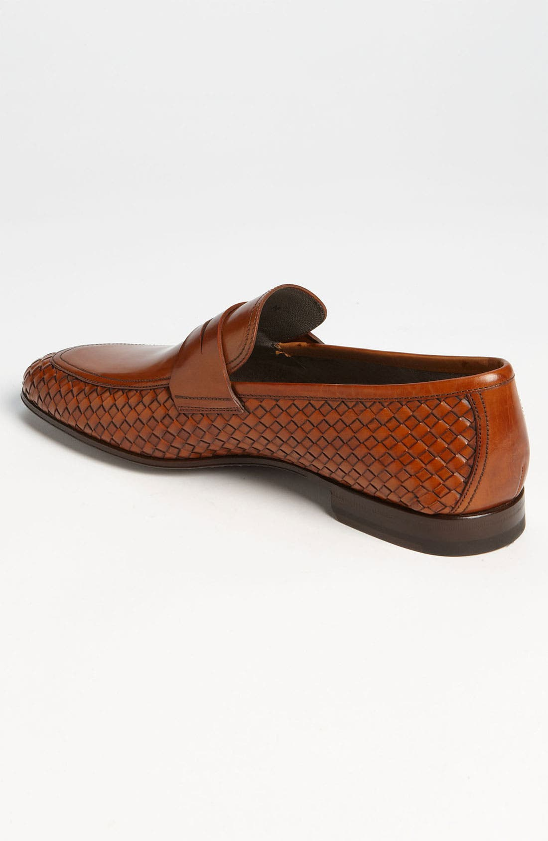 Alternate Image 2  - Magnanni 'Oliver' Woven Penny Loafer (Online Only)