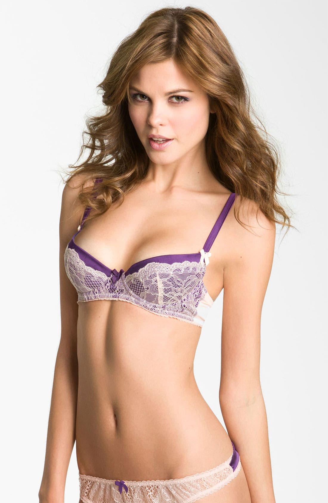 Alternate Image 1 Selected - Mimi Holliday 'Sea Breeze' Super Plunge Bra