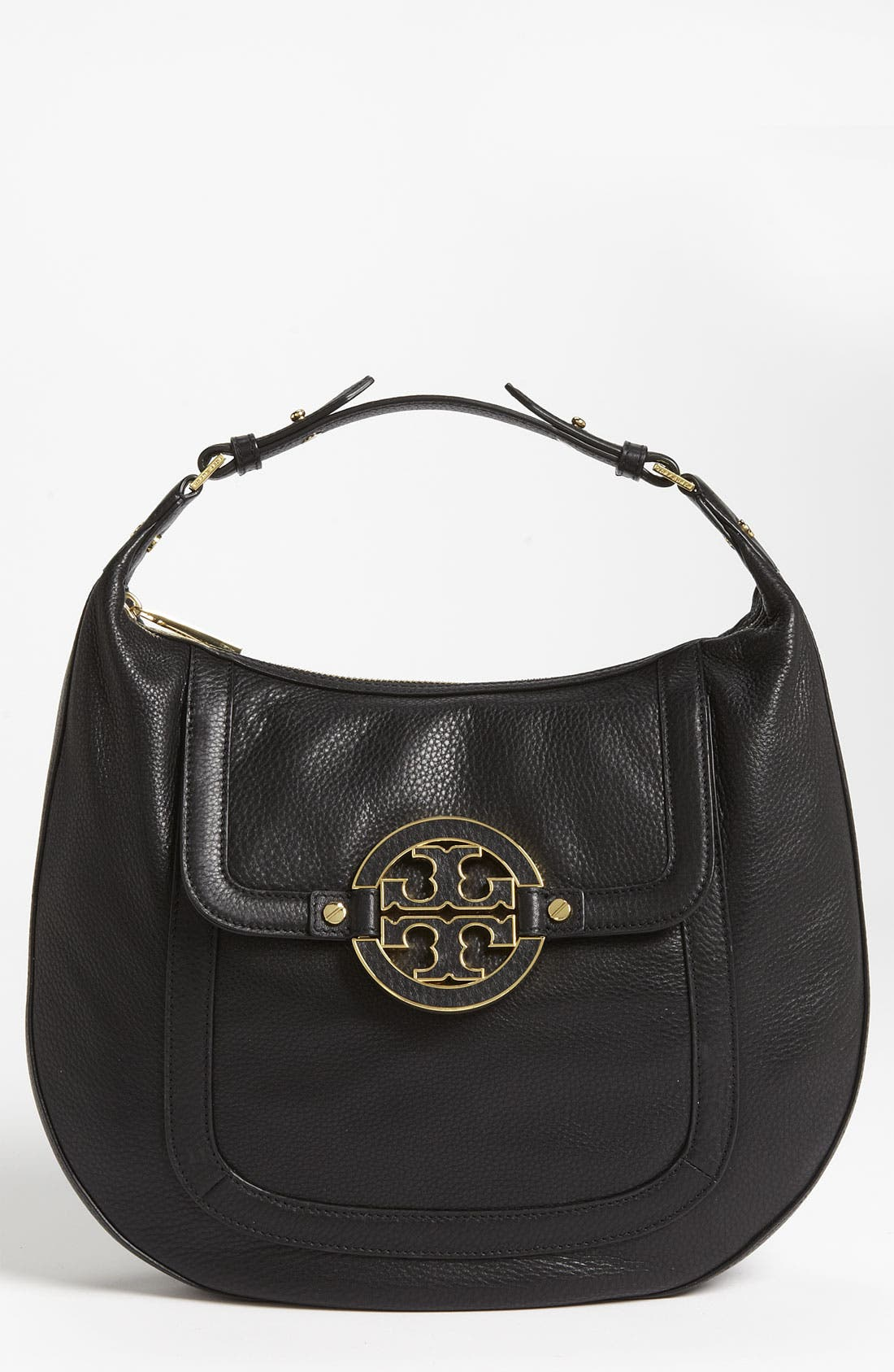 Main Image - Tory Burch 'Amanda - Mini' Flat Hobo