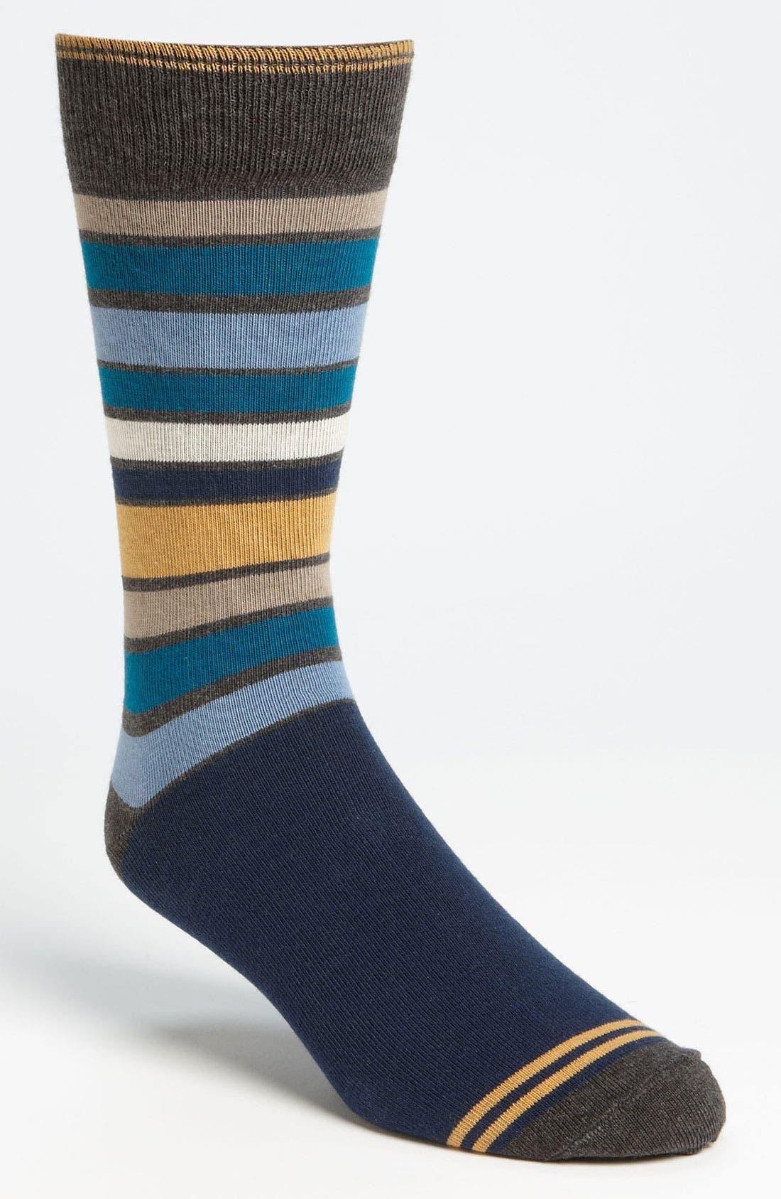 Alternate Image 1 Selected - Pact 'Blues' Socks