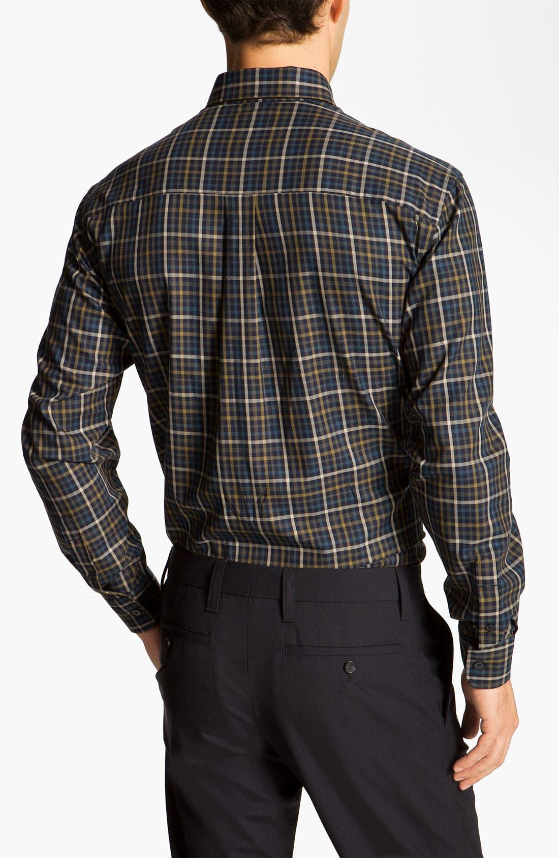 Alternate Image 2  - Cutter & Buck 'Cypress' Check Sport Shirt (Online Only)
