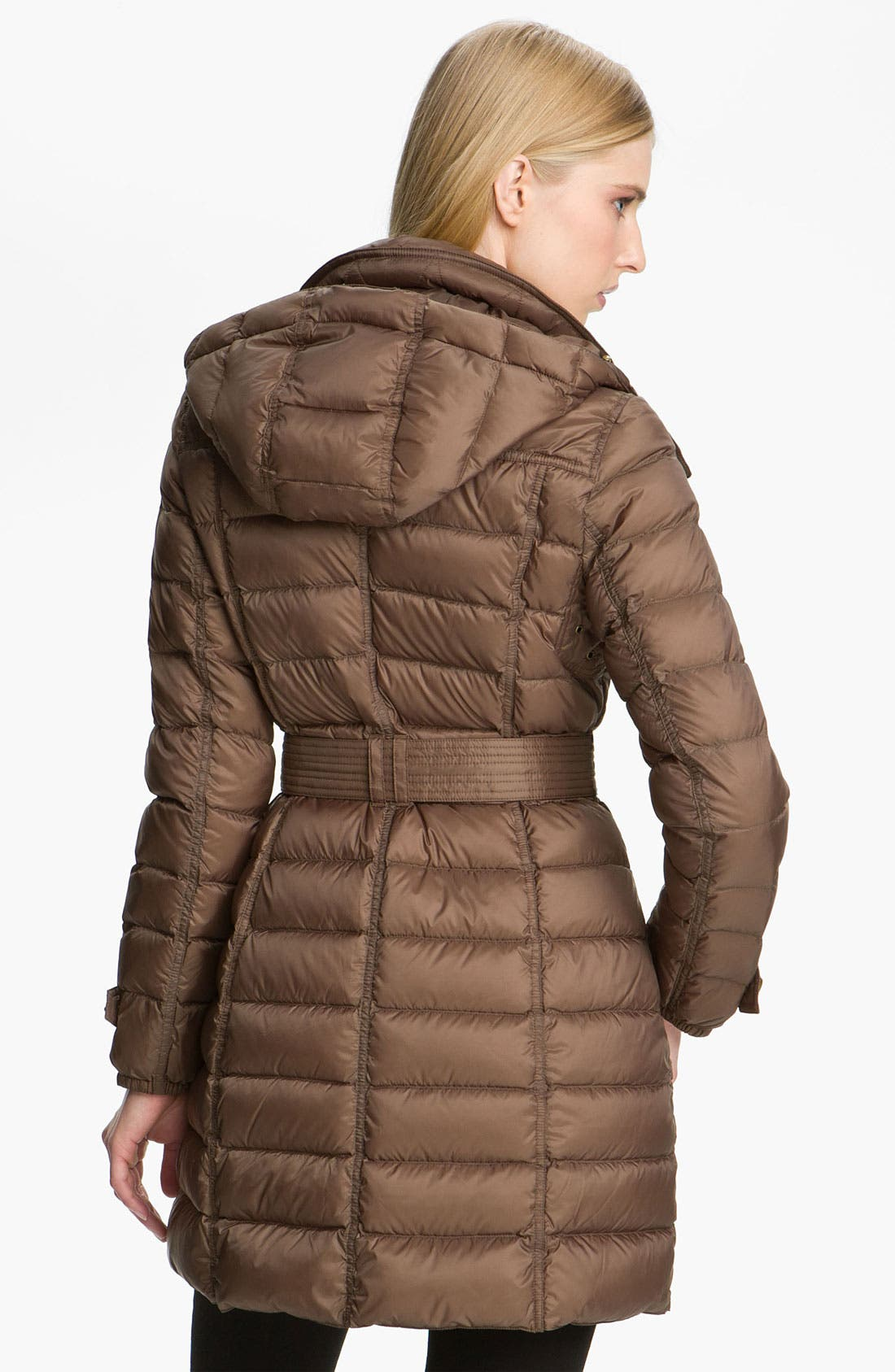 Alternate Image 2  - Burberry Brit Belted Down Coat
