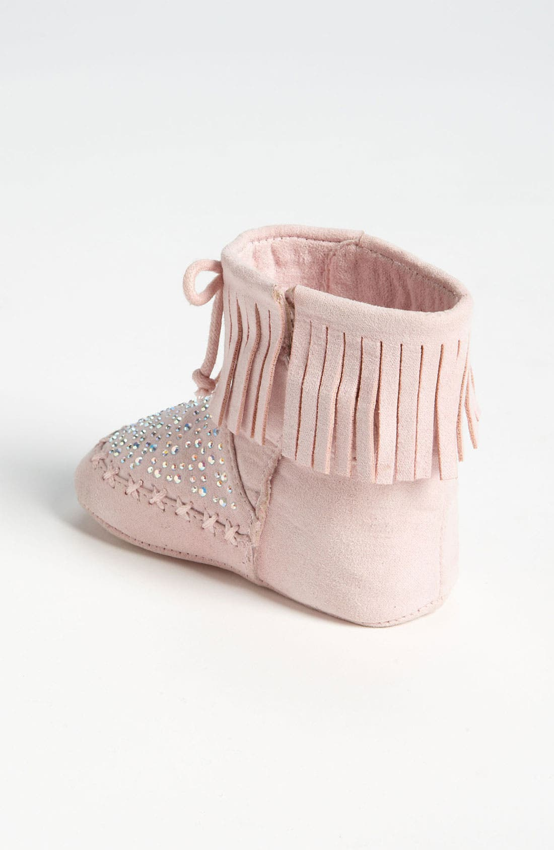 Alternate Image 2  - Stuart Weitzman 'Baby Moctail' Crib Shoe (Baby)