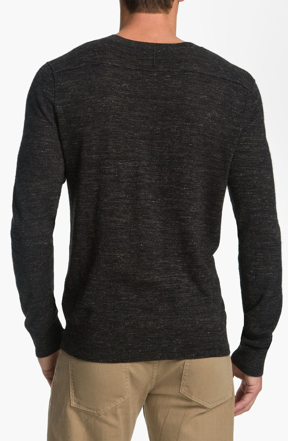 Alternate Image 2  - Vince V-Neck Sweater