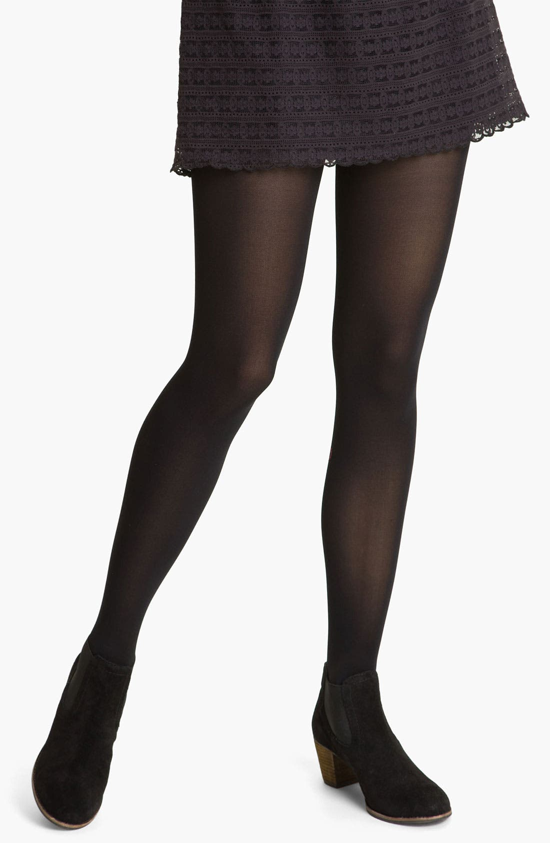 Alternate Image 1 Selected - Free People Opaque Tights