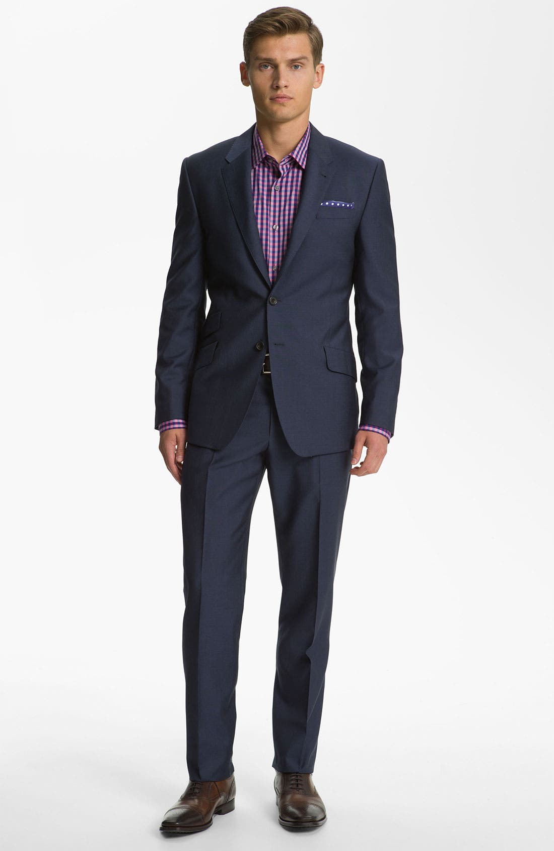 Alternate Image 2  - Paul Smith London Wool & Mohair Suit