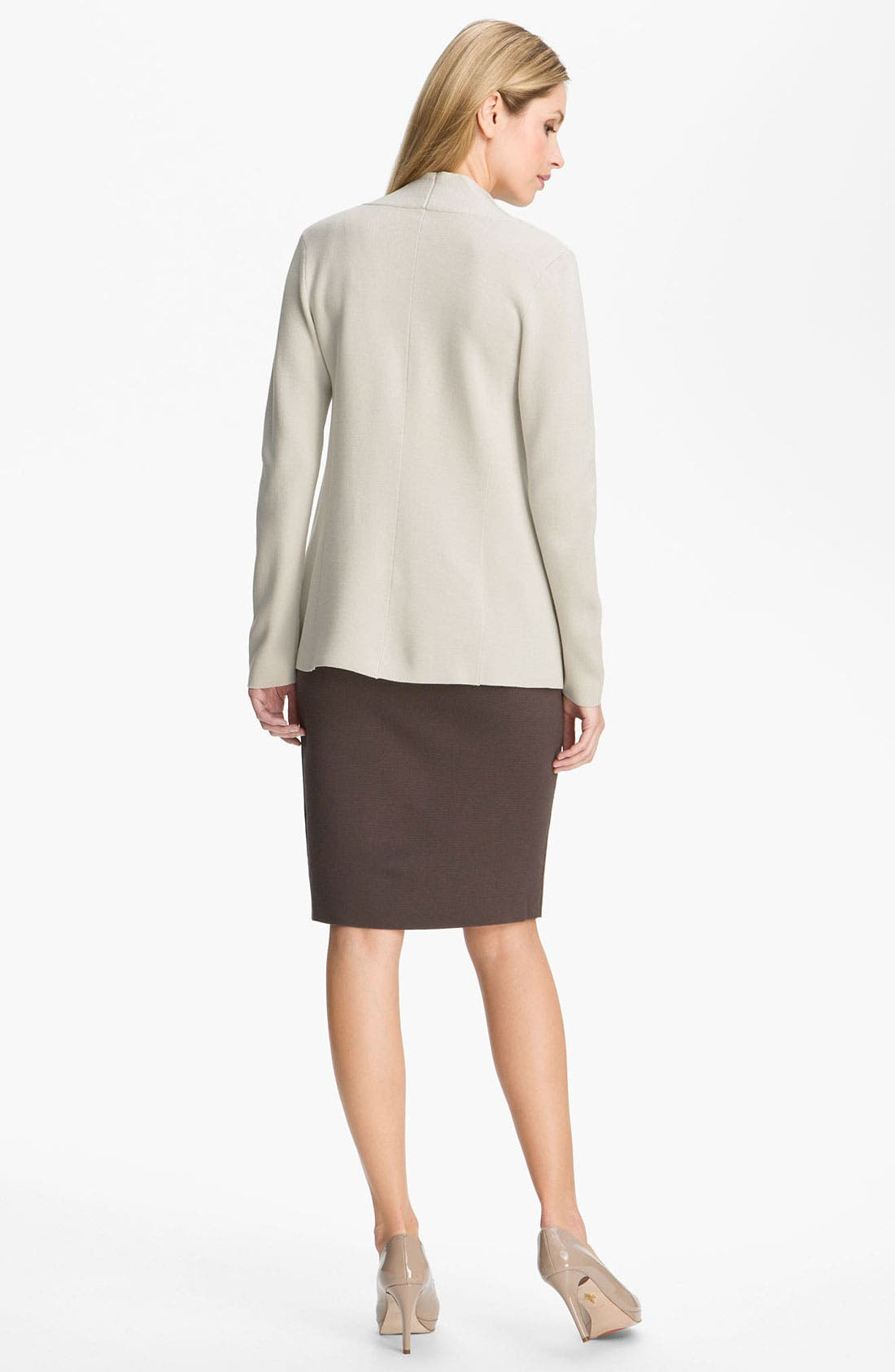 Alternate Image 5  - Eileen Fisher Silk & Cotton Knit Cardigan