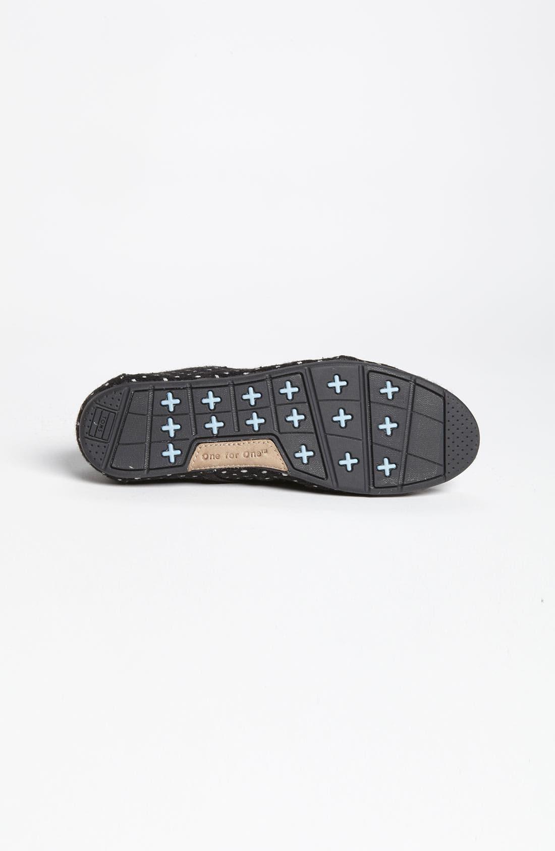 Alternate Image 4  - TOMS 'Cordones - Dots' Slip-On (Women)