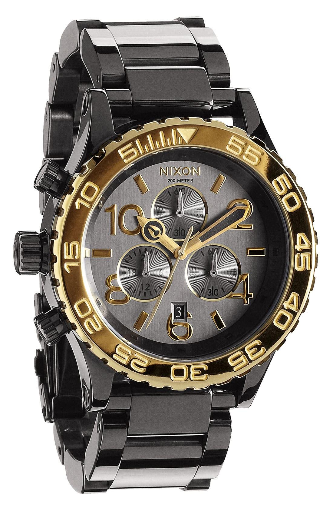 Alternate Image 1 Selected - Nixon 'The 42-20 Chrono' Watch, 42mm