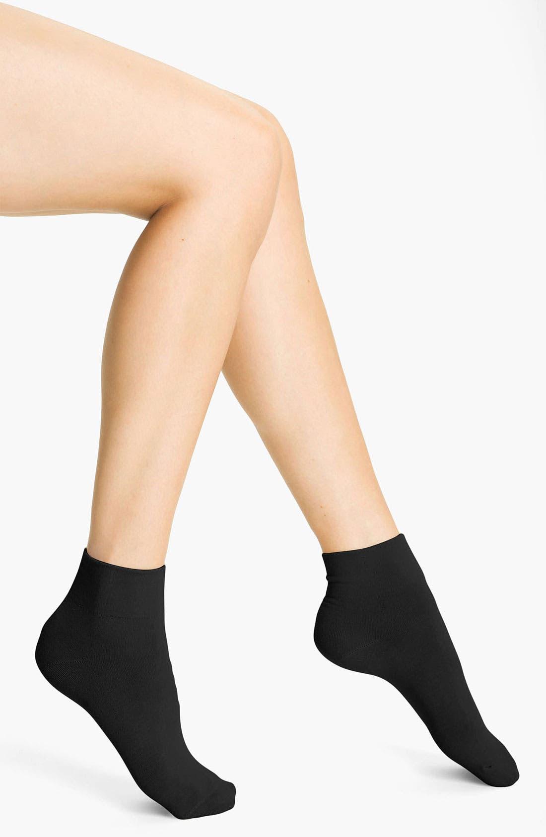 Cotton Blend Socks,                         Main,                         color, Black