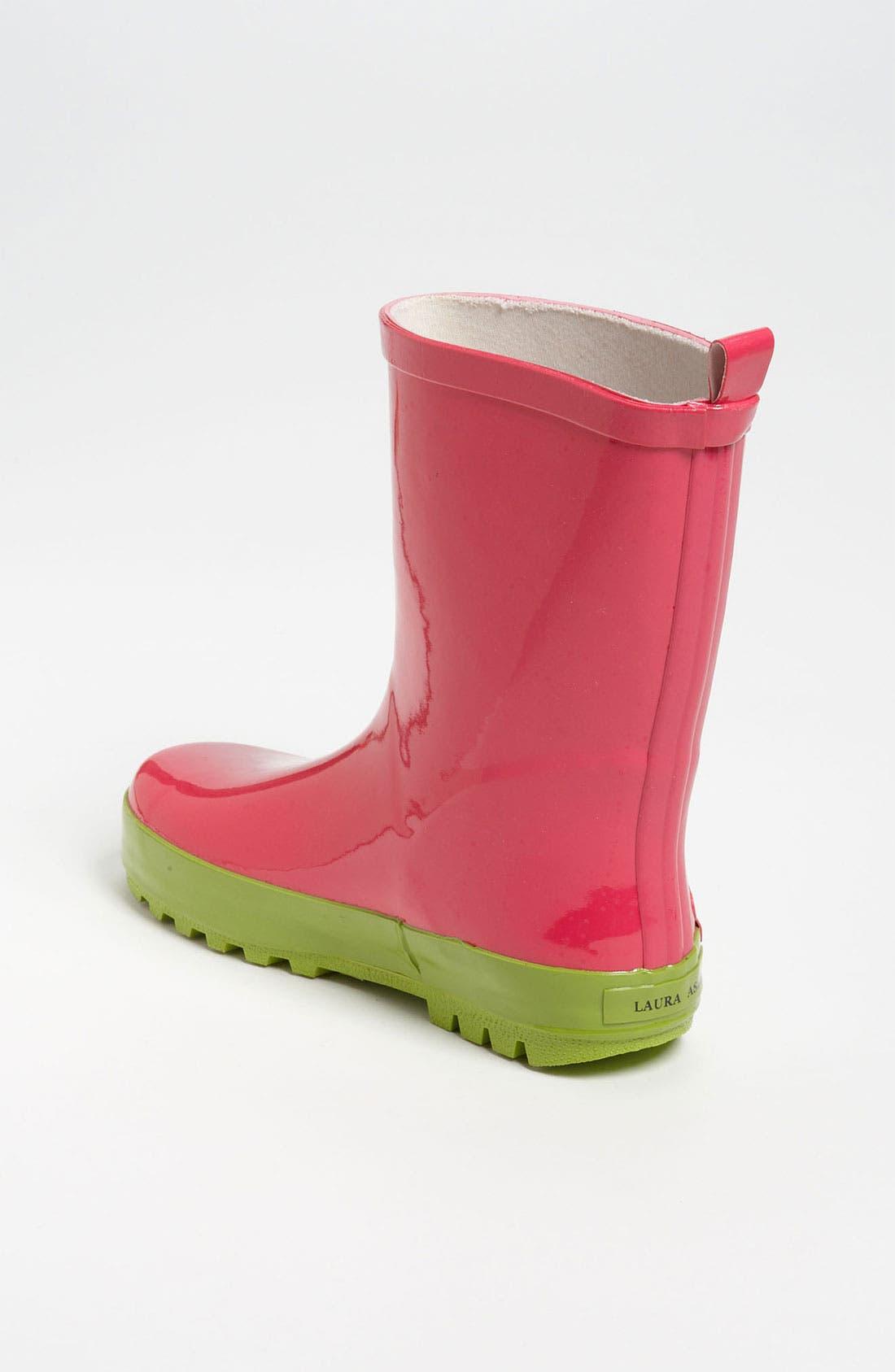 Alternate Image 2  - Laura Ashley 'Garden' Rain Boot (Walker, Toddler, Little Kid & Big Kid)