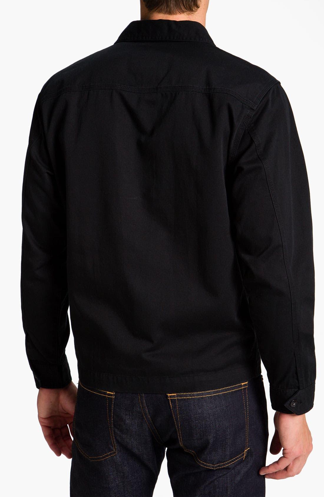 Alternate Image 2  - Lacoste L!VE Cotton Twill Trim Fit Shirt Jacket