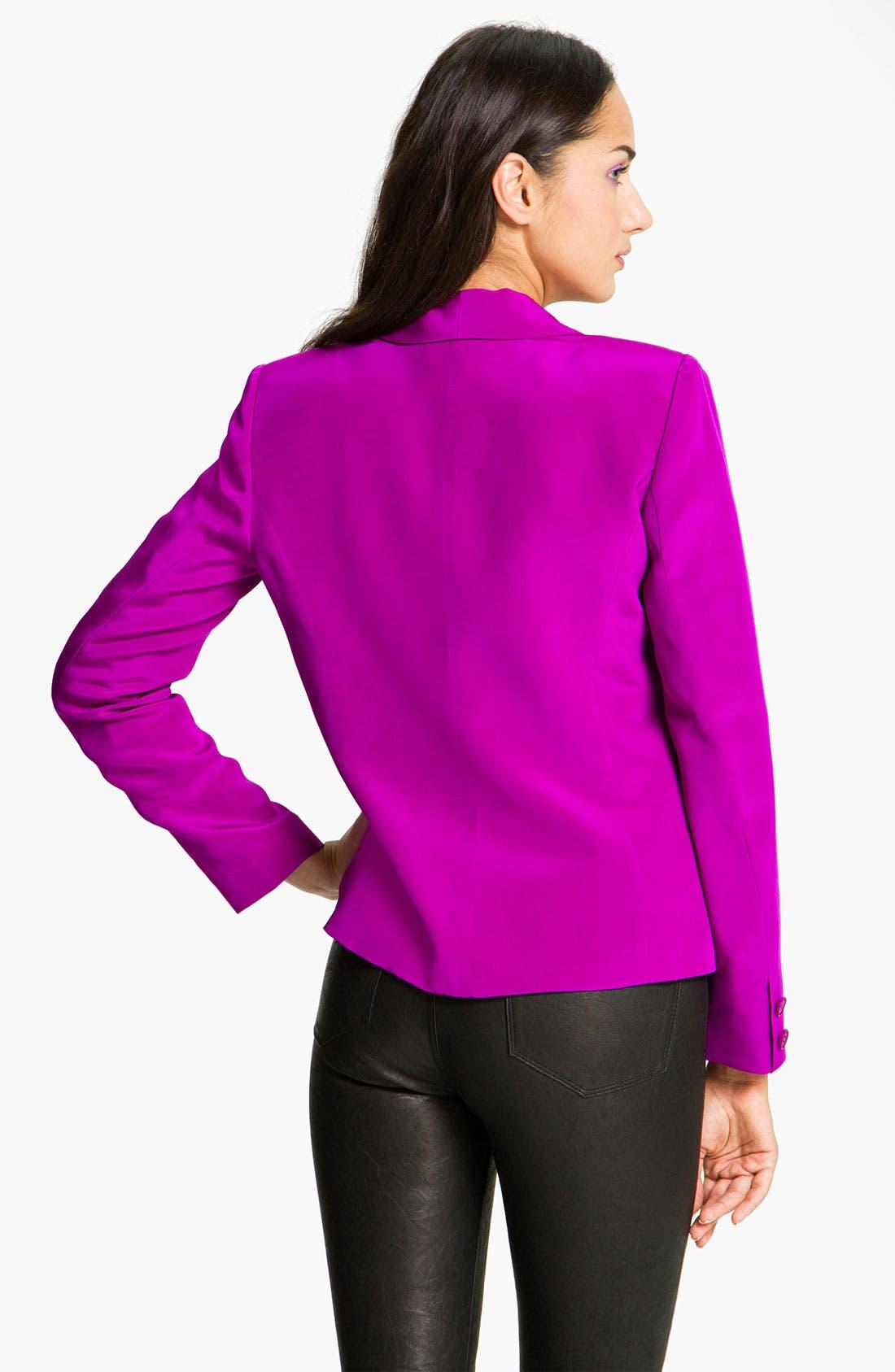 Alternate Image 2  - Truth and Pride Silk Cutaway Blazer