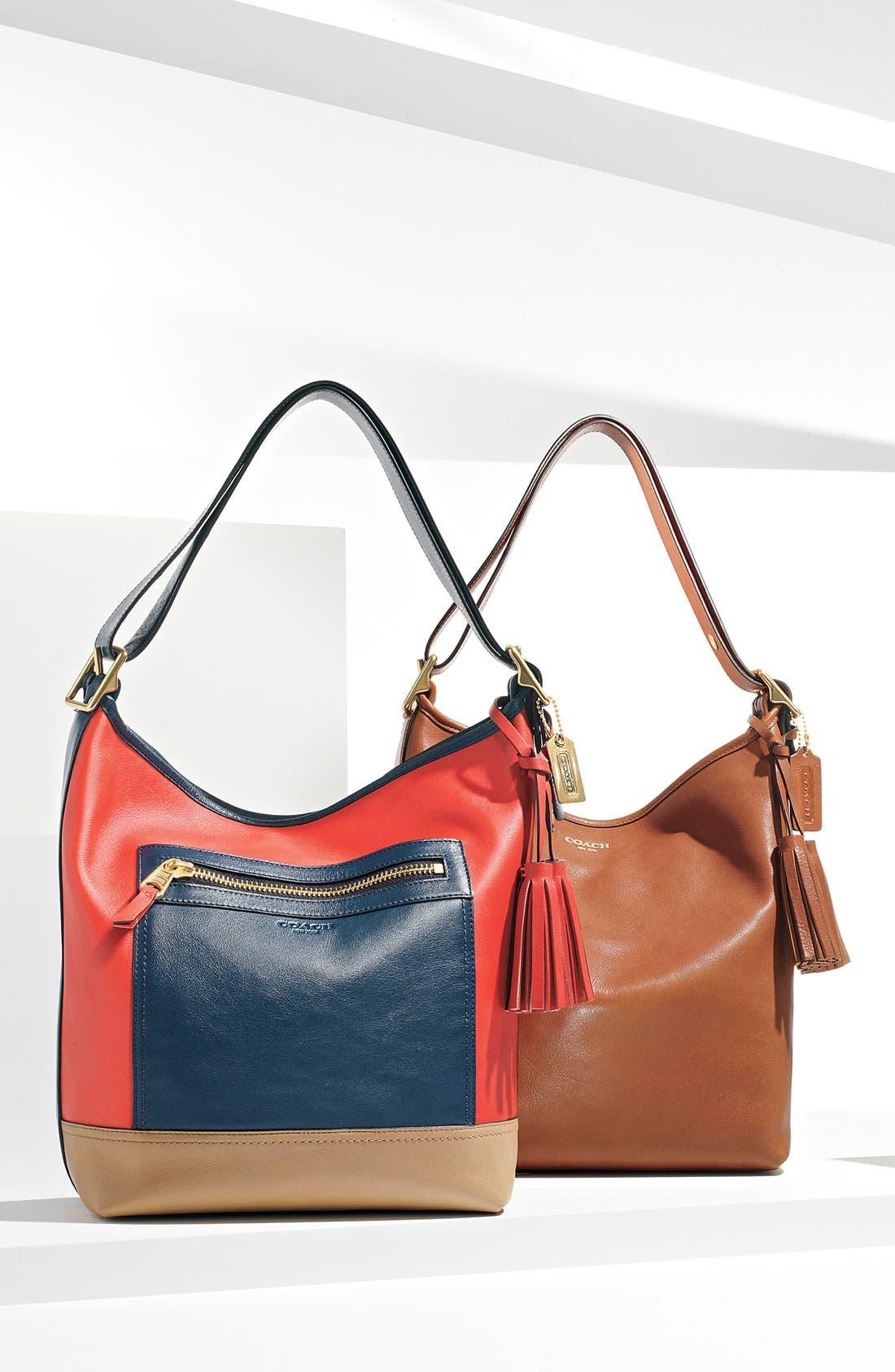 Alternate Image 5  - COACH Colorblock Leather Duffel