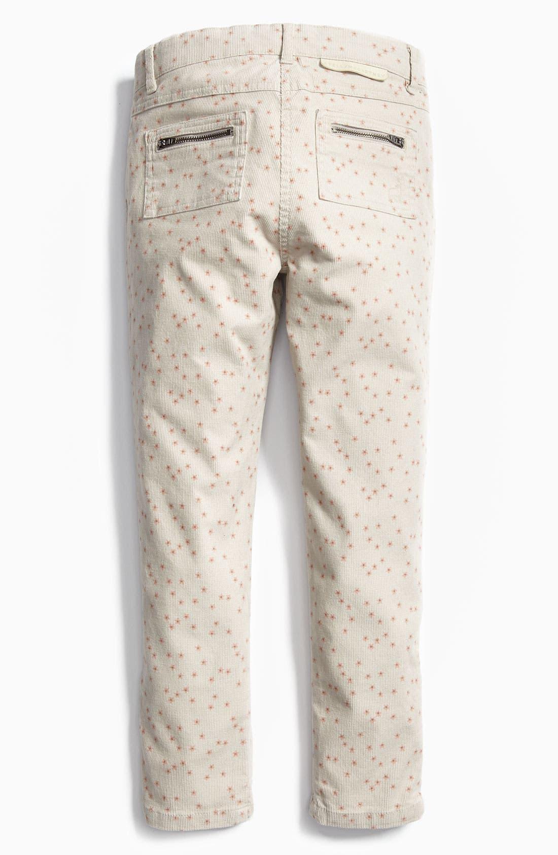 Alternate Image 1 Selected - Stella McCartney 'Nina' Skinny Corduroy Pants (Little Girls & Big Girls)