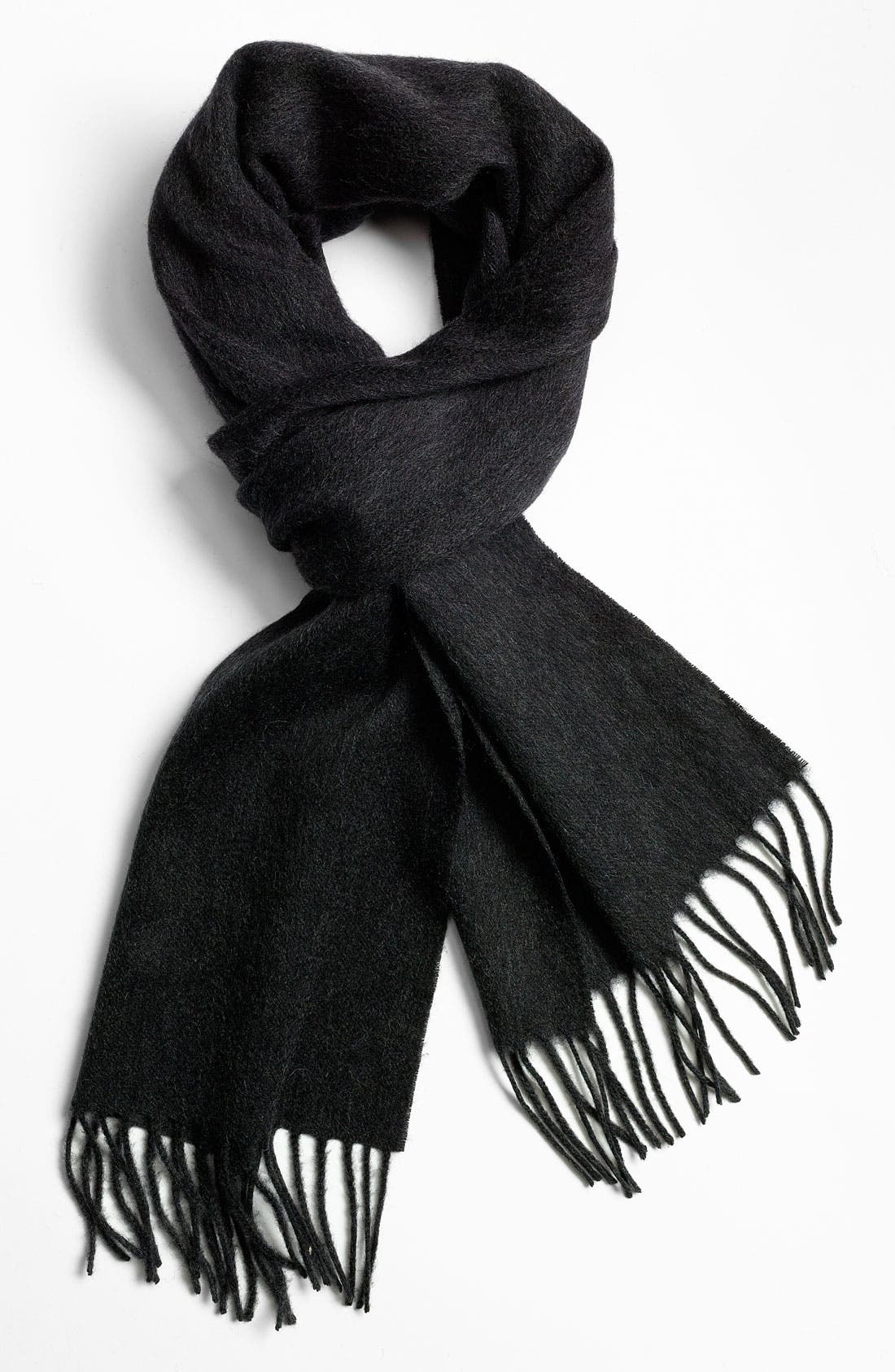 Wool Scarf,                         Main,                         color, Grey