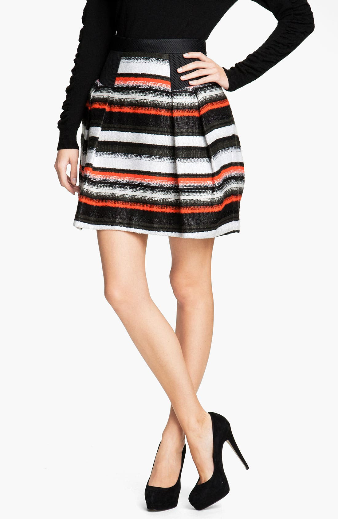 Alternate Image 1 Selected - Milly 'Raquelle' Flare Skirt