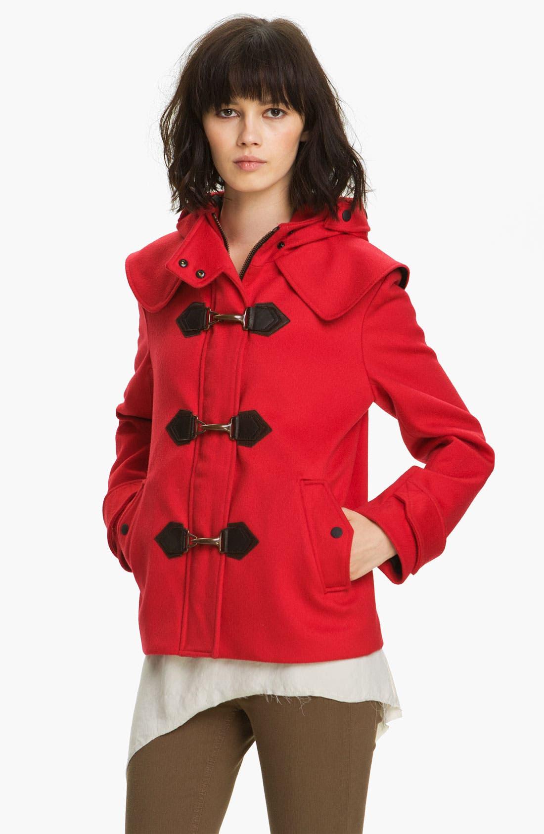 Alternate Image 1 Selected - rag & bone Crop Duffle Coat