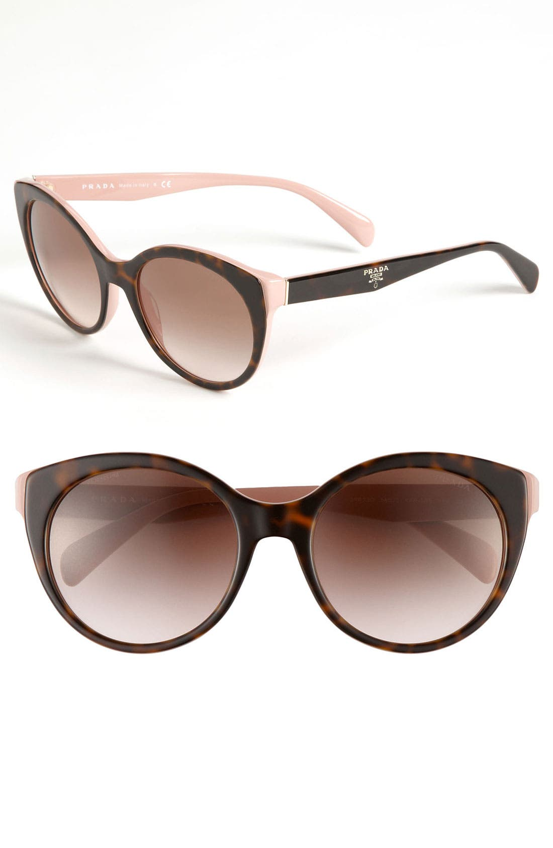 Alternate Image 1 Selected - Prada 56mm Cat Eye Sunglasses