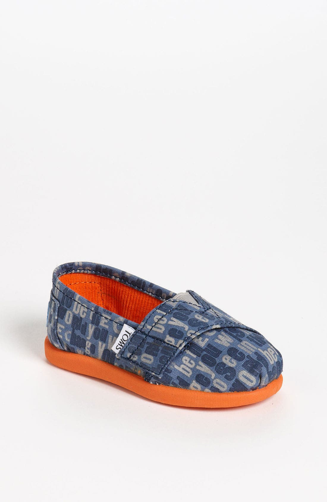 Main Image - TOMS 'Classic Tiny - Ash' Slip-On (Baby, Walker & Toddler)