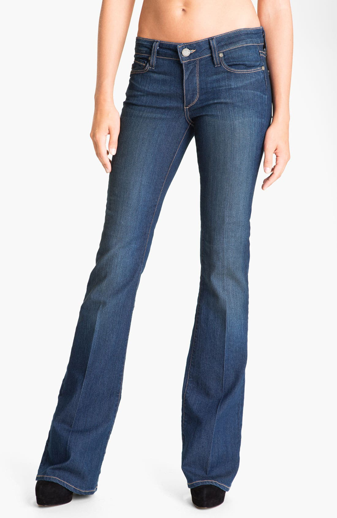 Alternate Image 1 Selected - Paige Denim 'Skyline' Bootcut Jeans (Finley)
