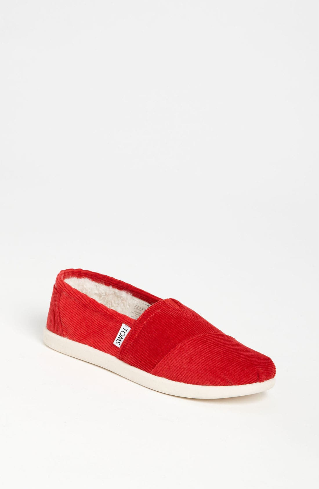 Main Image - TOMS 'Classic' Corduroy Slip-On (Toddler, Little Kid & Big Kid)