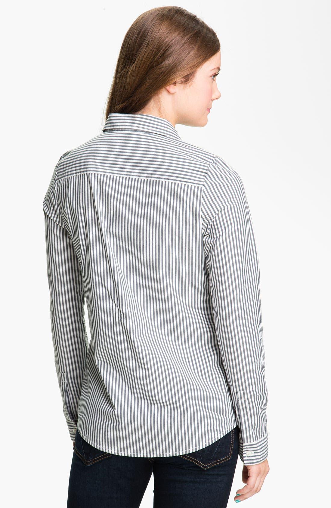 Alternate Image 2  - BP. 'Shrunken Prep' Shirt (Juniors)