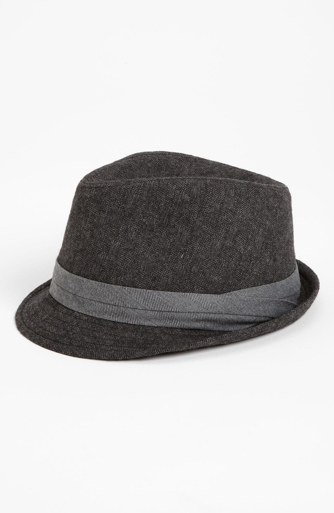Main Image - Free Authority Textured Fedora