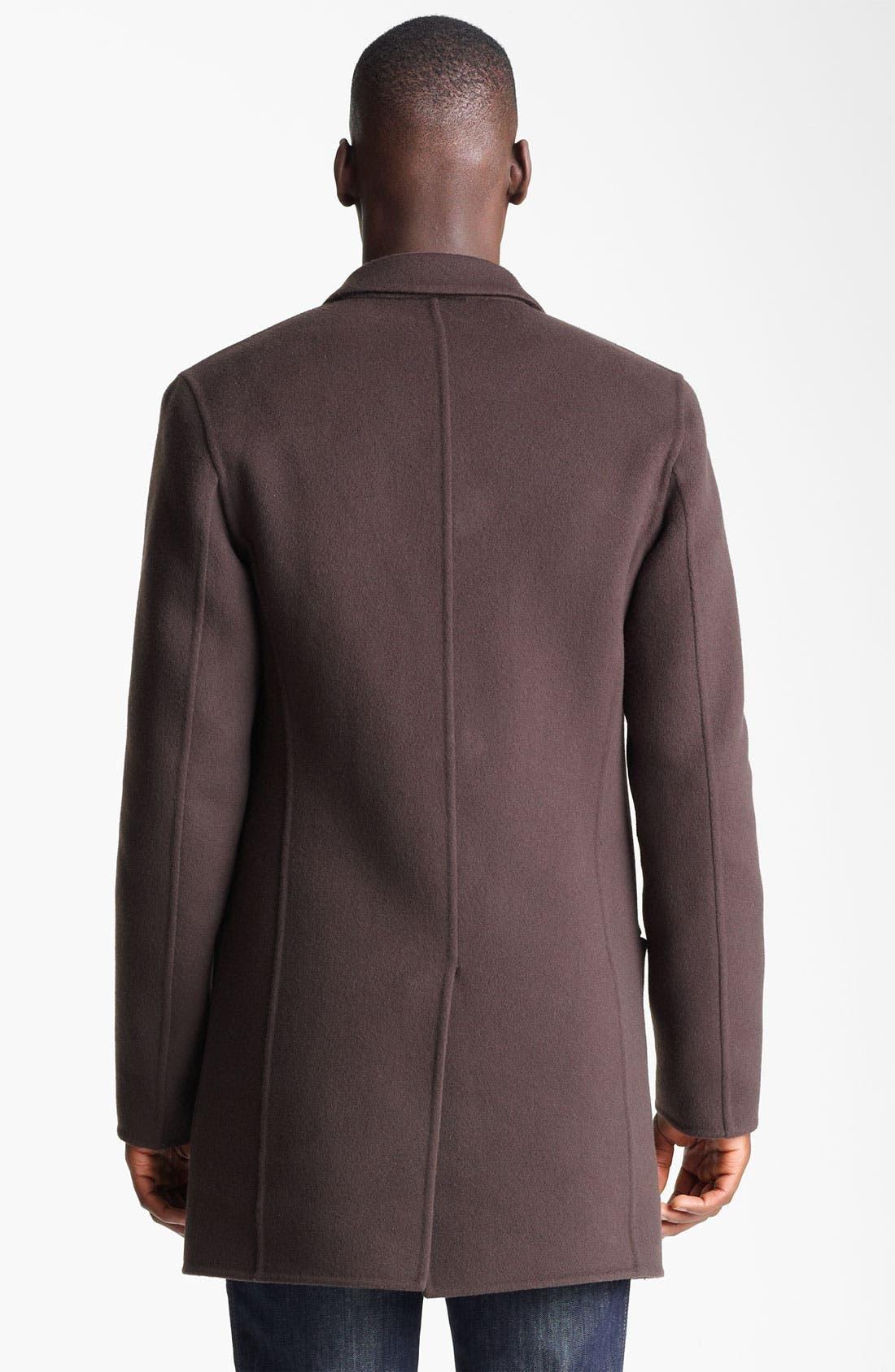 Alternate Image 2  - Salvatore Ferragamo 'Capotto Sportivo' Wool Coat