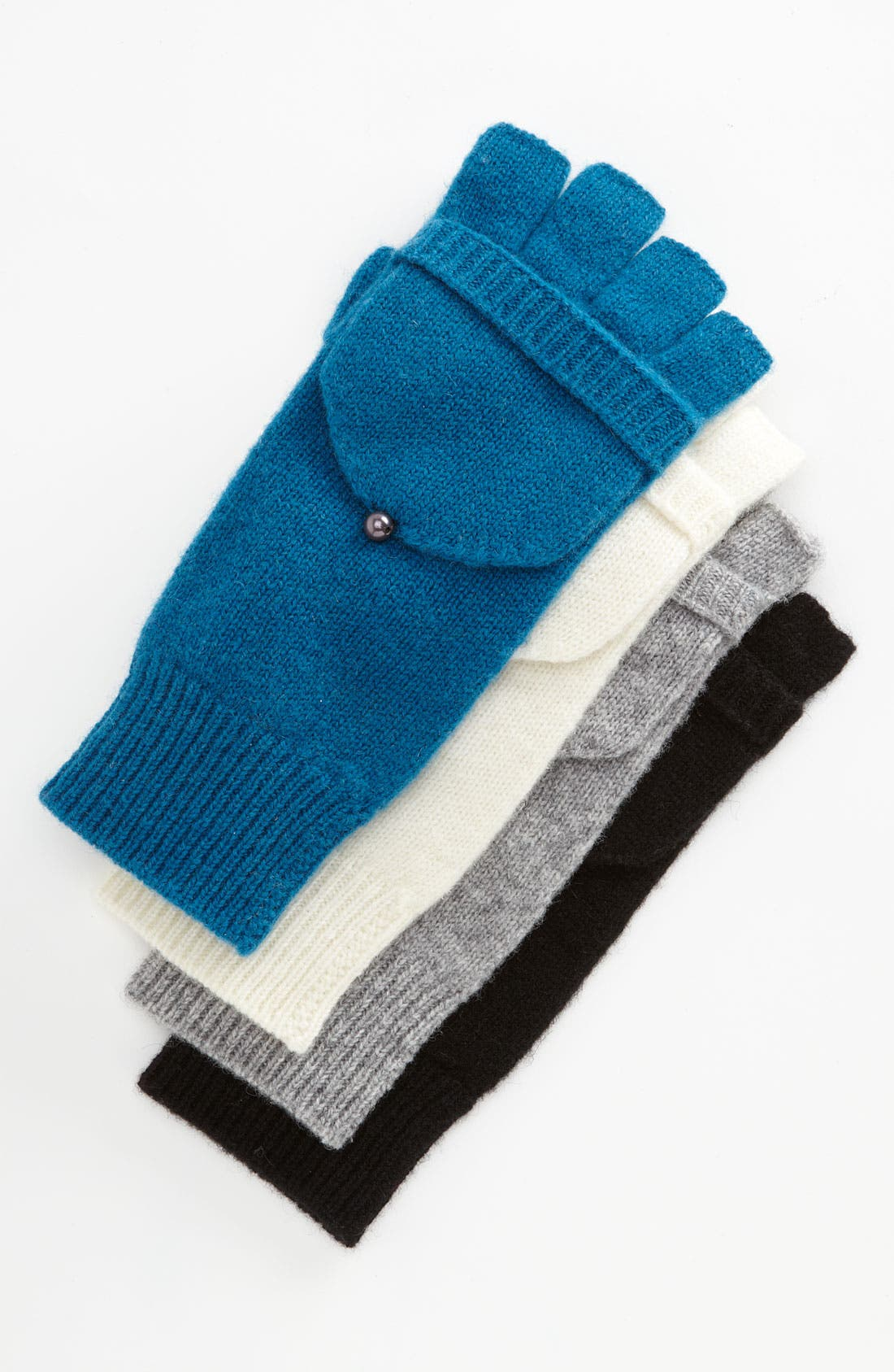 Alternate Image 1 Selected - Laundry by Shelli Segal Convertible Knit Mittens