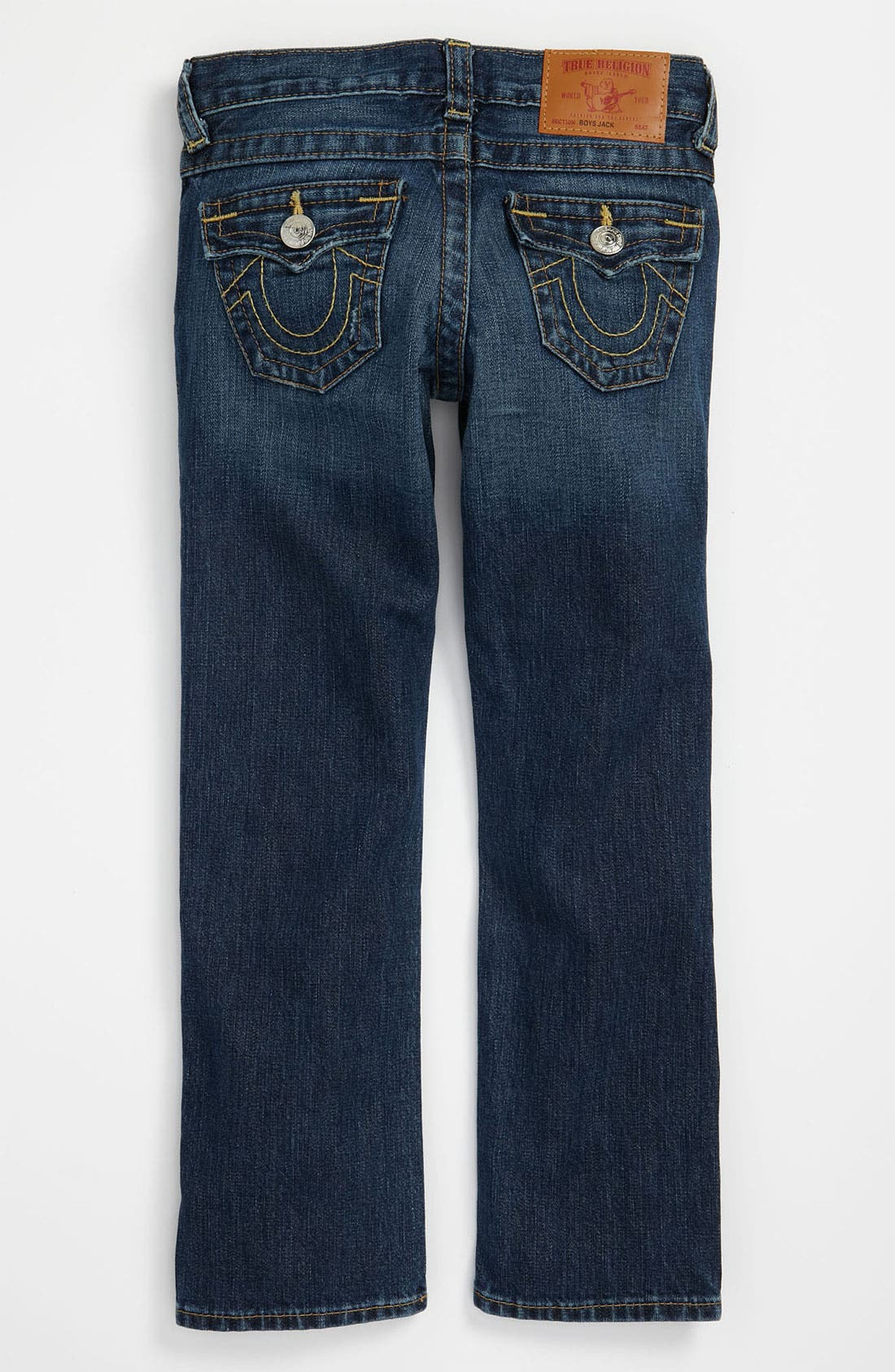 Alternate Image 1 Selected - True Religion Brand Jeans 'Jack' Relaxed Straight Leg Jeans (Big Boys)