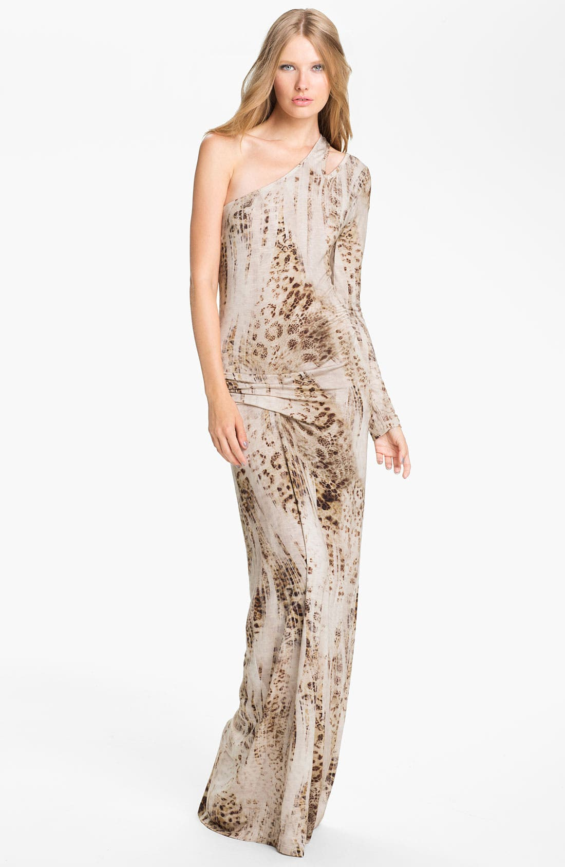 Alternate Image 1 Selected - Young, Fabulous & Broke 'Vinny' One Shoulder Maxi Dress