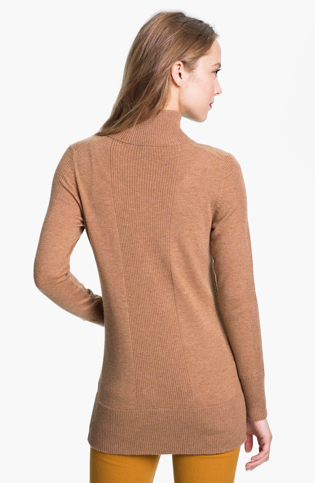 Alternate Image 2  - Tory Burch 'Alora' Half Zip Sweater (Online Exclusive)