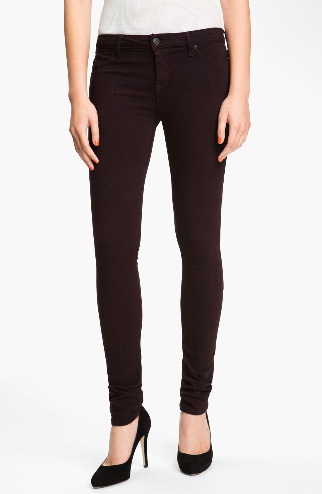 Alternate Image 1 Selected - Vince Colored Denim Leggings