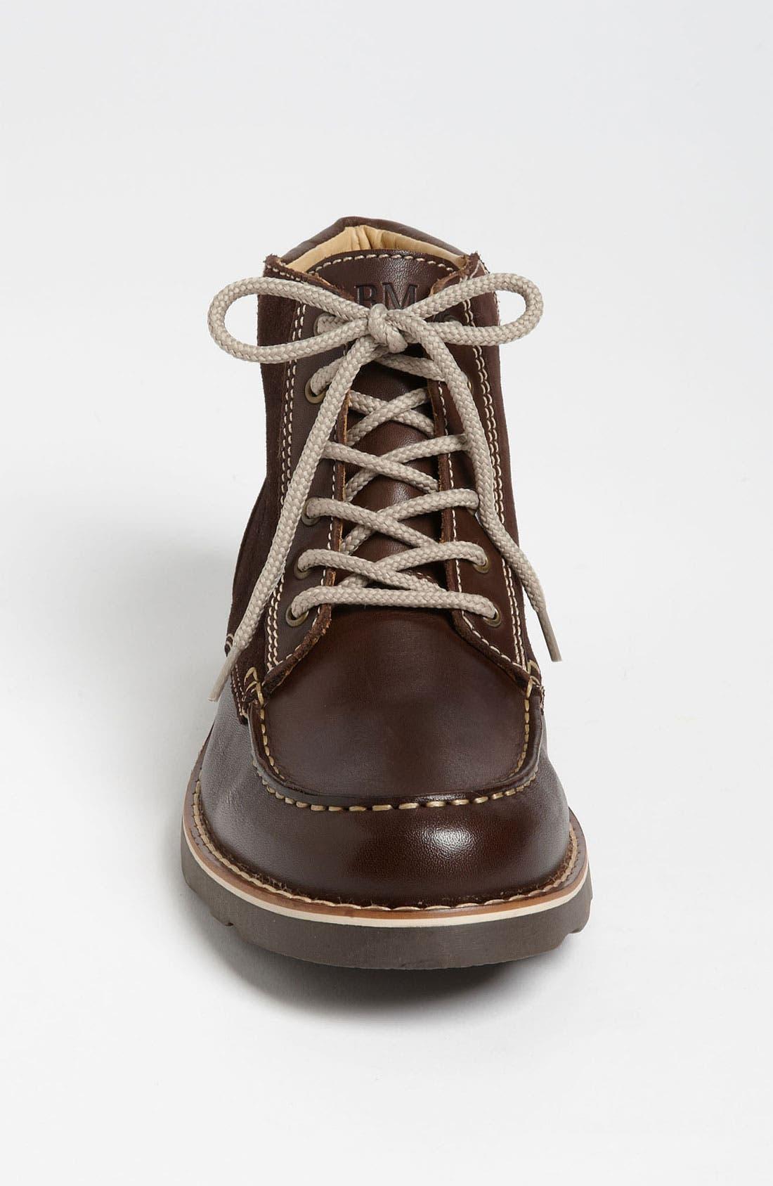 Alternate Image 3  - Armani Junior Leather Boot (Toddler, Little Kid & Big Kid)